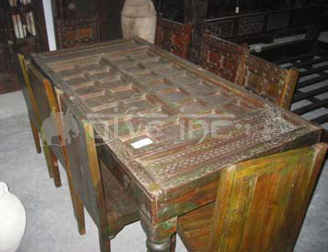 Old Door Table - Antique Table Manufacturer, Antique Table Supplier,Antique Table