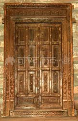 Indian carved door south indian door teak wood door for Doors design indian style